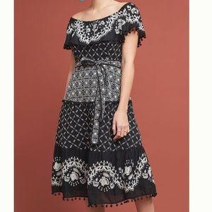 Anthropologie Marisol Off The Shoulder Dress ❤️